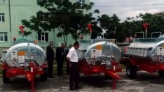 Kulu'da 4 Mahalleye Yangın Söndürme Tankeri