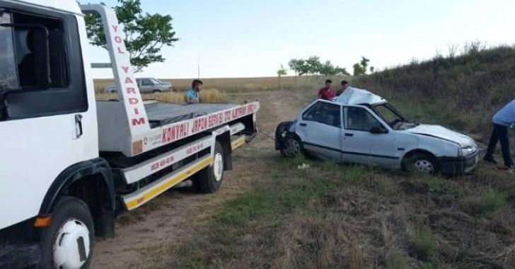 Kulu'da Otomobil ile Tır Çarpıştı: 1 Ölü