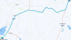 Kulu Akşehir Arası Kaç Km